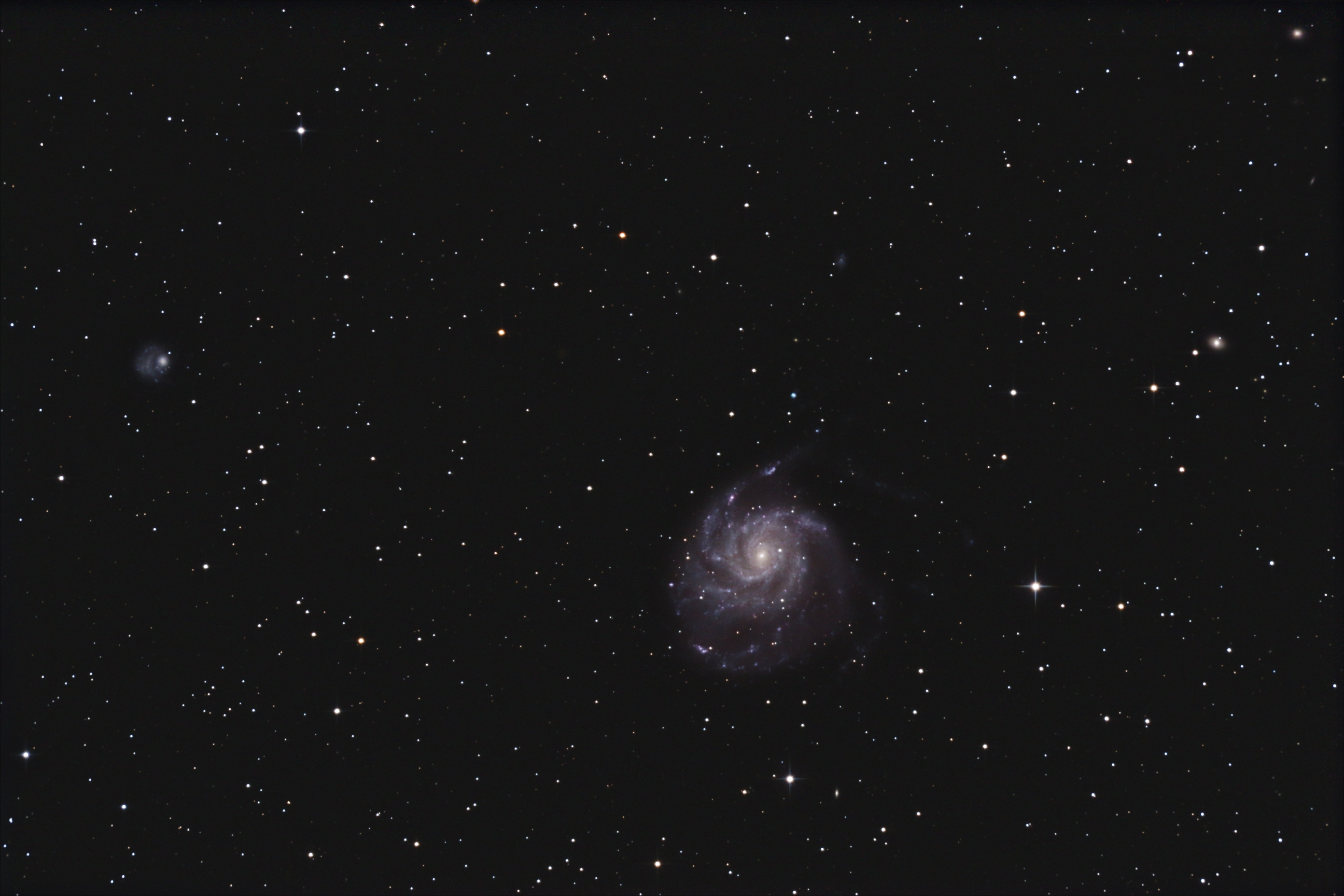 M101, galaxie du Moulinet
