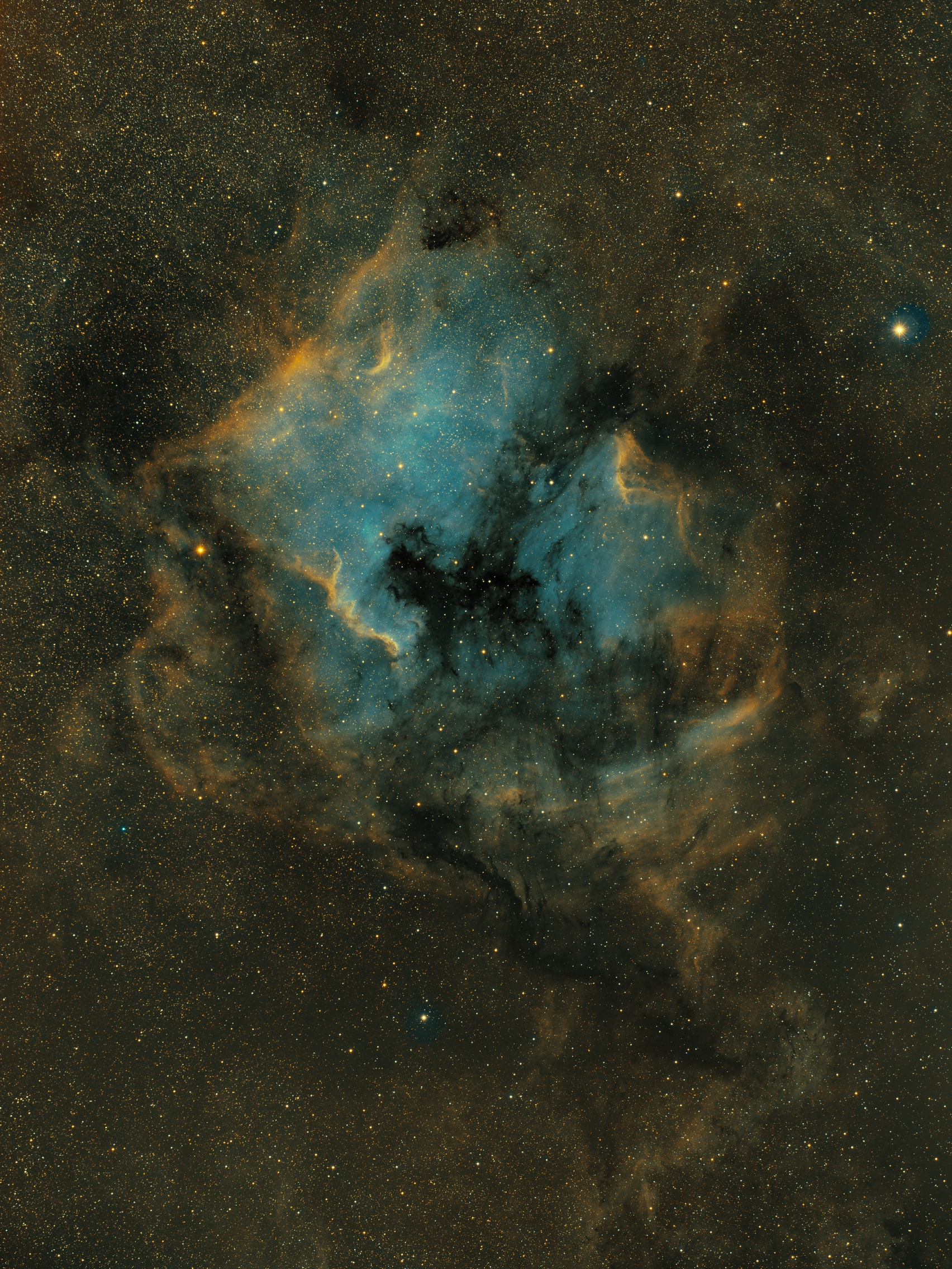 NGC7000 - SHO - 11h50 - ciel-de-nuit-en-vercors.fr