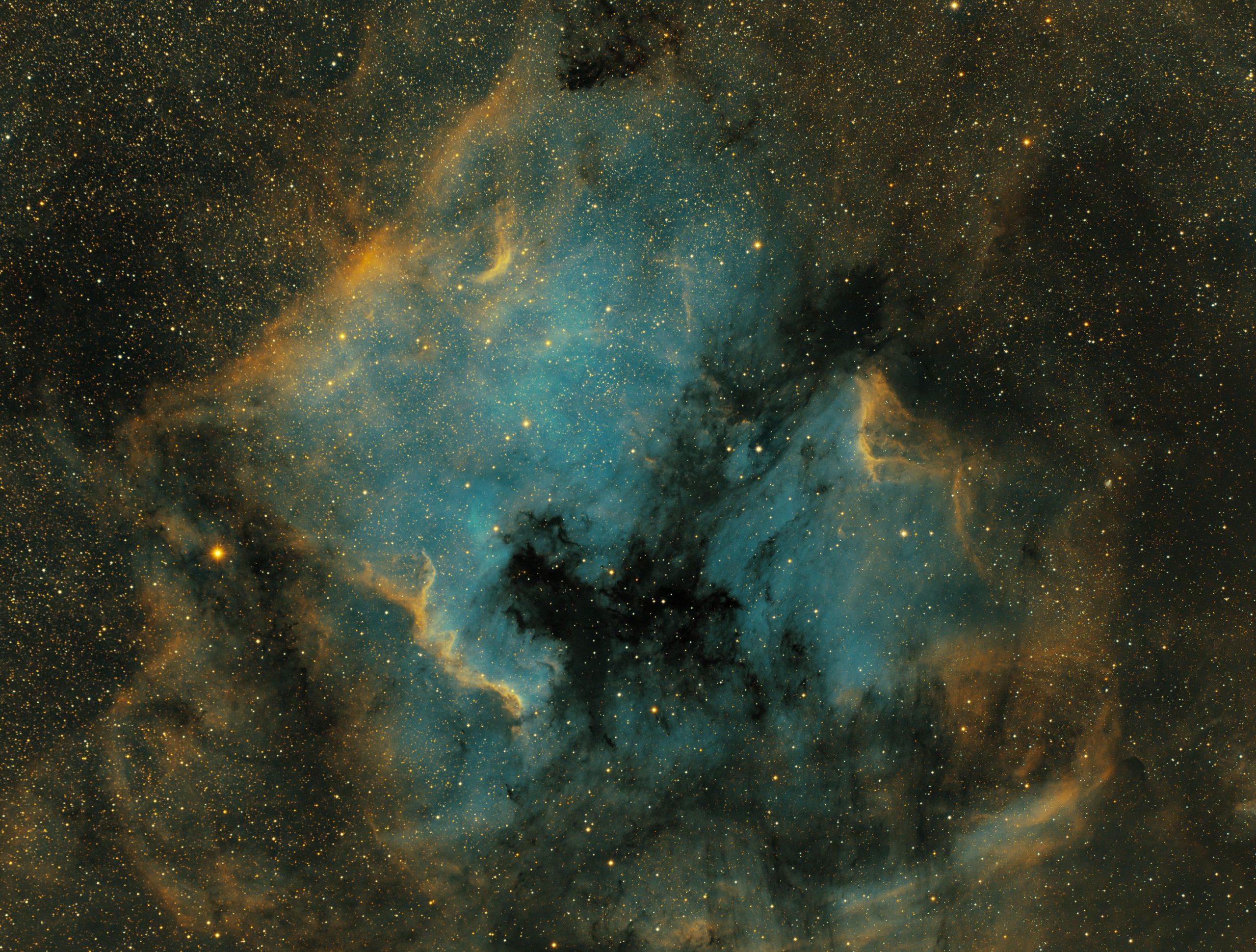 NGC7000 large crop - SHO - 11h50 - ciel-de-nuit-en-vercors.fr